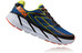 Hoka One One M's Clifton 3 Shoes BLUE/RED ORANGE